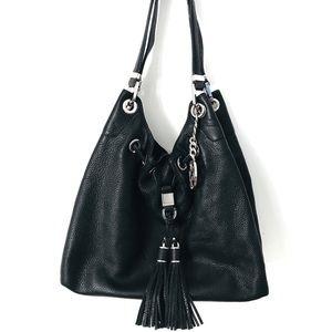 Michael Kors Camden Black&Silver Bag